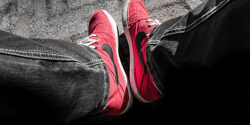 Nikeskor för bättre kontakt